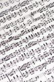 wynik muzyczny obrazy royalty free