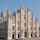 Wyniosły widok Duomo di Milano obraz royalty free