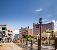 Wynn和再来一次旅馆和赌博娱乐场 免版税库存图片