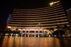 Wynn旅馆赌博娱乐场在澳门 免版税库存图片
