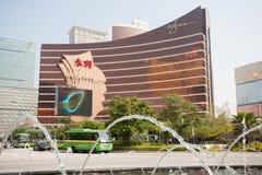 Wynn赌博娱乐场在澳门 库存照片