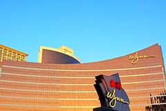 Wynn Casino Building, Macau, China Stock Images
