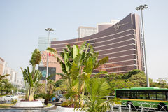 Wynn Casino in Macau Royalty Free Stock Photos