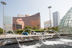 Wynn Casino in Macau Stock Photos