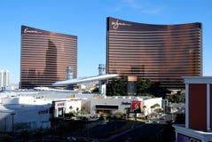 Wynn & Encore. Wynn and Encore hotels, Fashion Mall with Macy's Stock Photo