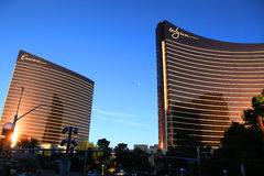 Wynn and Encore hotels Royalty Free Stock Photography