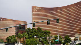 Wynn and Encore on Las Vegas Strip Royalty Free Stock Photo