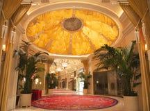 Wynn Esplanade bij Wynn Hotel en het Casino stock foto
