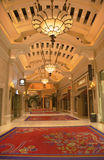 Wynn Esplanade bij Wynn Hotel en het Casino royalty-vrije stock afbeelding