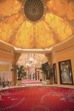 Wynn Esplanade en Wynn Hotel y el casino fotografía de archivo