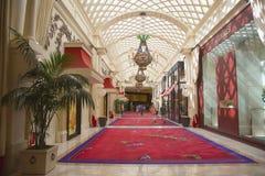 The Wynn Esplanade at the Wynn Hotel and Casino Royalty Free Stock Photos
