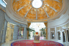 The Wynn Esplanade at the Wynn Hotel and Casino Royalty Free Stock Photo