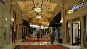 Wynn Hotel and Casino in Las Vegas, Nevada Royalty Free Stock Images