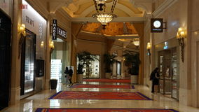Wynn Hotel and Casino in Las Vegas, Nevada Royalty Free Stock Photography