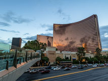 Wynn Hotel and Casino at sunset - Las Vegas, Nevada, USA Royalty Free Stock Image