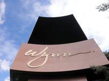 Wynn Hotel Digital Sign Stock Images