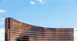 Wynn Hotel en Las Vegas con el cielo azul imagen de archivo