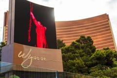 Wynn Hotel et casino à Las Vegas Photos libres de droits