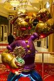Wynn Hotel intérieure à Las Vegas Images libres de droits