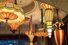 Wynn Hotel interior em Las Vegas Imagens de Stock Royalty Free