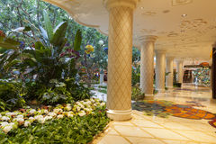 Wynn hotel Interior in Las Vegas, NV on August 02, 2013 Royalty Free Stock Photo