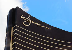Wynn Hotel Las Vegas. The Luxury Hotel Wynn in Las Vegas Stock Images
