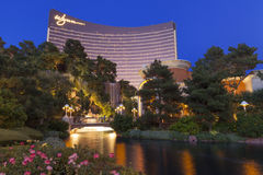 The Wynn Hotel in Las Vegas, NV on April 30, 2013 royalty free stock image