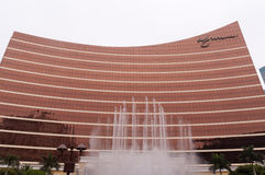 Wynn Hotel in macau Royalty Free Stock Photo