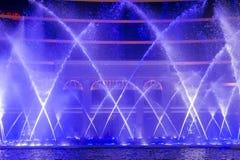 Wynn Hotel Macau-Brunnenshow Stockfoto