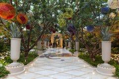 Wynn hotellinre i Las Vegas, NV på Augusti 02, 2013 Arkivbild