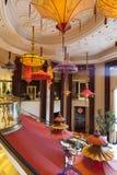 Wynn hotellinre i Las Vegas, NV på Augusti 02, 2013 Arkivfoton