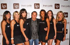 Wynn Katz al ventesimo partito di anniversario di Linea Pelle. Centro di disegno pacifico, Los Angeles, CA 06-12-06 Fotografia Stock