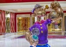 Wynn Las Vegas Popeye Stock Photos