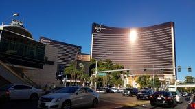 Wynn Las Vegas storstadsområde, bil, byggnad, stad Royaltyfri Bild