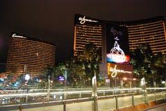 Wynn Las Vegas storstadsområde, natt, stad, gränsmärke Royaltyfria Foton