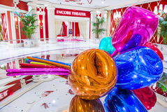 Wynn Las Vegas tulips Royalty Free Stock Photos