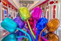 Wynn Las Vegas tulips Royalty Free Stock Photography