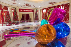 Wynn Las Vegas tulips Stock Image