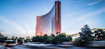 WYNN Resort Hotel en noviembre de 2017 en Las Vegas El centro turístico tiene fotografía de archivo