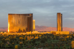 Wynn Resort Sunrise lizenzfreie stockbilder