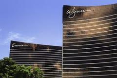 Wynn und Zugabenhotel Las Vegas Stockbilder