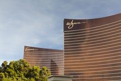 Wynn y casinos de la repetición, Las Vegas Fotografía de archivo libre de regalías