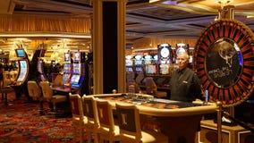 Wynn y repetición en Las Vegas Imagen de archivo libre de regalías