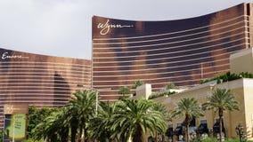 Wynn y repetición en Las Vegas Imágenes de archivo libres de regalías