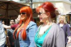 Wynonna and Naomi Stock Images