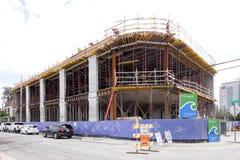 Wynwood的迈阿密高层建筑 免版税库存照片