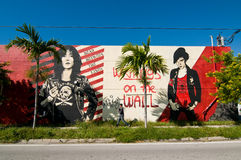 Wynwood Miami Royaltyfri Foto