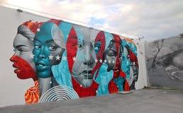 Wynwood mura Miami foto de stock royalty free