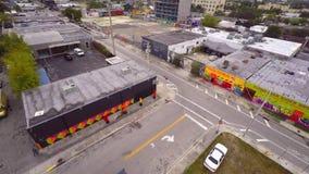 Wynwood video aéreo Miami 7 4k filme
