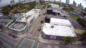 Wynwood video aéreo Miami 9 4k almacen de video